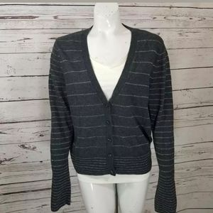 American Eagle Glitter Cardigan v neck XL